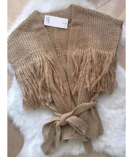 Fringes Knit Vest