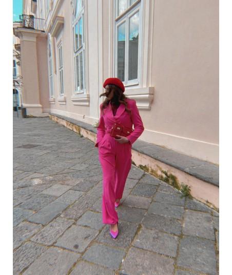 Pantaloni Hot Pink