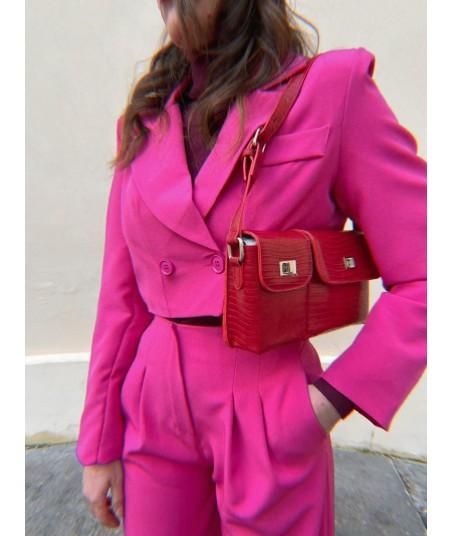 Blazer Cropped Pink