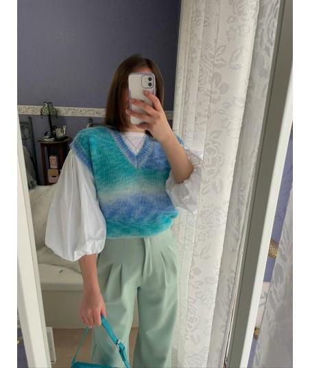 Mermaid Knit Vest