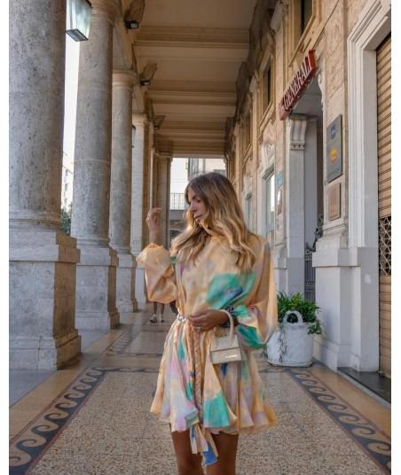 Riviera Tie-Dye Dress
