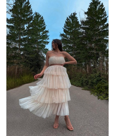 Tulle Ivory Dress