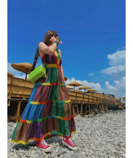 Full Color Gipsy Dress