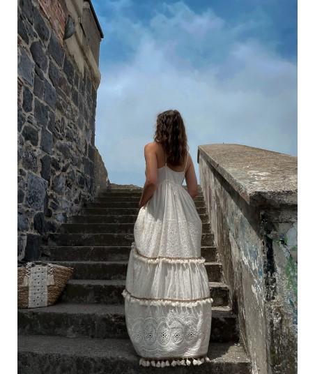 Sangallo Lace Dress