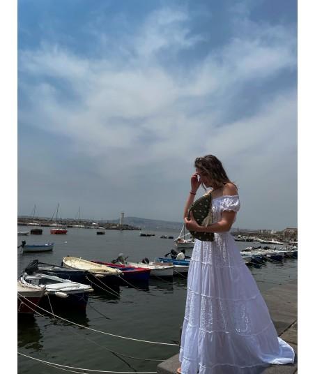 Pure White Lace Dress