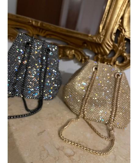 Glossy Bucket Bag