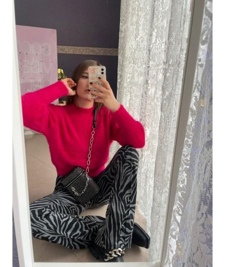 Furry Pink Sweater
