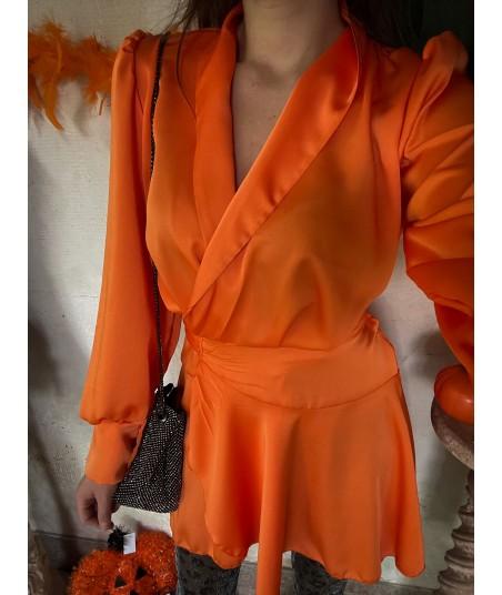 Fashion Pumpkin Dress