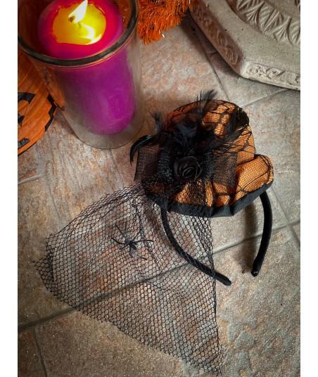 Cerchietto Halloween Pumpkin